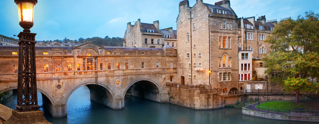 Sample the waters in historic Bath