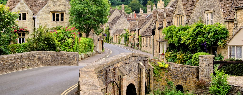 The Cotswolds,Villages,Bibury,Burford,Bourton-on-the-water,